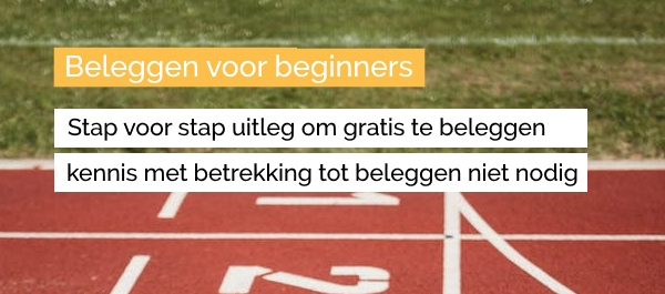 begin met gratis account